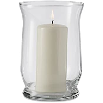 Amazon Com Libbey Adorn 4 Piece Glass Hurricane Vase Set 6 Inch Home Amp Kitchen