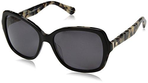 - Kate Spade Women's Karalyn/s Polarized Square Sunglasses, Black Havana, 56 mm