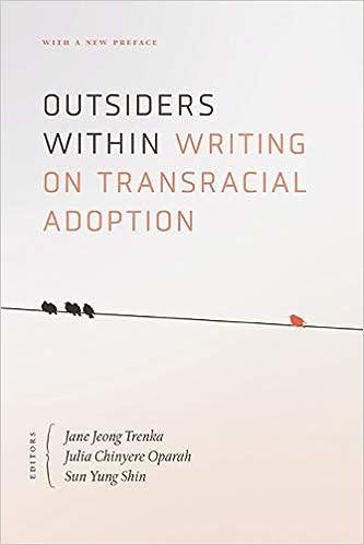 Outsiders Within: Writing on Transracial Adoption: Amazon.es ...