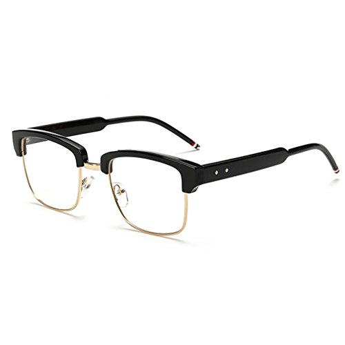 V House New Fashion Vintage Flat Mirror Glasses Student Retro Spectacles C3