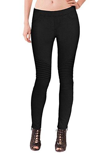 Womens Moto Jeans - 5