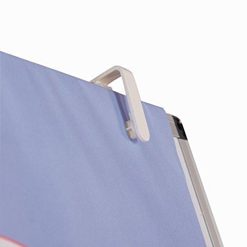 VIZ-PRO Light Melamine Tripod Whiteboard/Flipchart Easel, 24'' W x 36'' L (Renewed) by VIZ-PRO (Image #6)