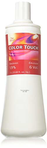 (Wella Touch Hair Color Emulsion 6 Vol, 33.8 Ounce)