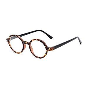 Readers.com The Bookworm +1.50 Brown Tortoise/Black Affordable Round Frame Best Sellers Reading Glasses