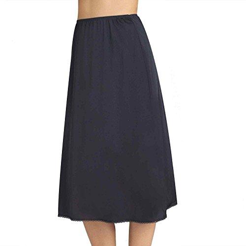 Vanity Fair Solutions Women`s Satin Glance Half Slip, VF-11711, S-28 (Vf Vanity Fair)