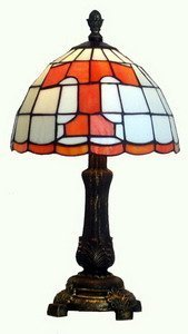 Traditions Artglass Tennessee Volunteers Accent Lamp