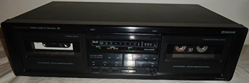 Onkyo TA-RW303 Dual Cassette Stereo Tape Deck With Auto Reverse and AV Cables Music Audio Sound - VERY RARE - Onkyo Cassette