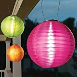Solar Shoji Lantern
