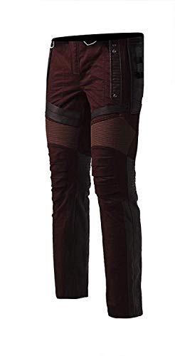Fashion Leather Pants Real Maniche Lord Uomo Star Giacca Lunghe first FnawgFqxrC