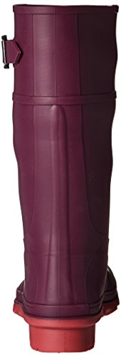 Pictures of Kamik Girls' Raindrops Rain Boot Dark Purple EK4137H 8