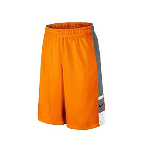 Franchise Kids Nike Shorts - Nike Boys Franchise Basketball Shorts - Small - Orange