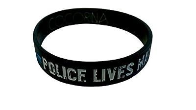 Police Lives Matter Wristbands