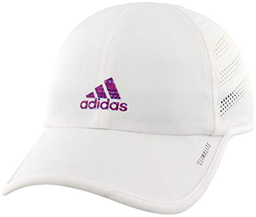 adidas Womens Superlite Pro Cap, White/Subdued Print, ONE SIZE
