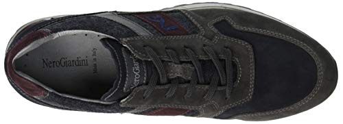 Camo Homme Nero Enfiler grey Baskets Giardini Colorado Gris 137 vxRaq