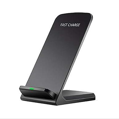 Amazon.com: Gankmachine QI inalámbrico cargador rápido 2 ...