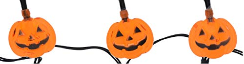 A&T Designs Decorative Halloween Pumpkin Shaped Mini LED Lights Strand - for Indoor Use (Party Decor - DIY Crafting Floral Arrangement Wreath Centerpiece Table Setting Mantel) -