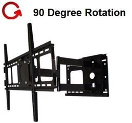 Rotating Portrait/Landscape Articulating TV Wall Mount fo...