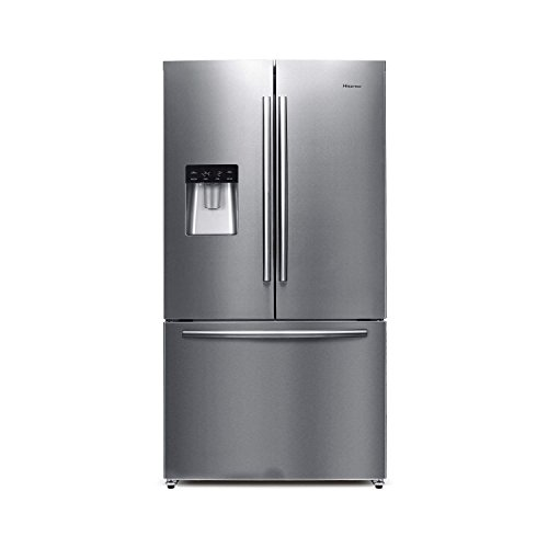 Hisense RF697N4ZS1 American Style French Door Freestanding Fridge Freezer...