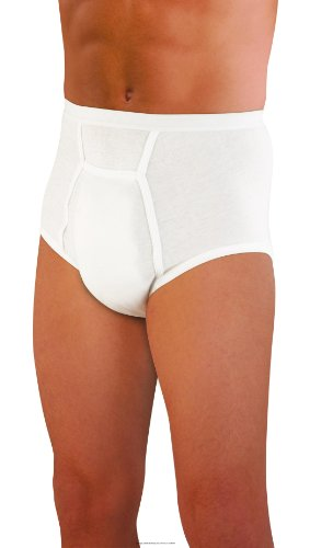 Sir Dignity Fitted Brief, Sir Dignity Brfs Cot-Pol Lg, (1 EACH, 1 EACH)