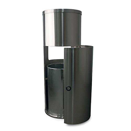 Zogics Antibacterial Wipes (4 Rolls/Case) + Stainless Steel Gym Wipes Floor Dispenser with Door by Zogics (Image #4)