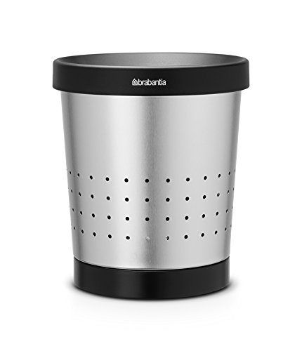 Brabantia 364303 Matte Stainless Conical Paper-Waste Bin ()