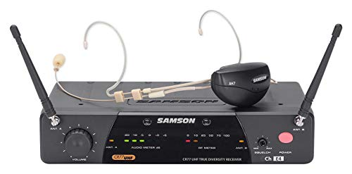 Samson Airline 77 AH7 Wireless System (Headset, Ch -