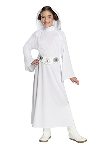 Rubie's Star Wars: Forces Of Destiny Child's Deluxe Princess Leia Costume, Large]()