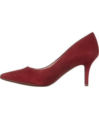 Alfani Womens Jeuleschili Closed Toe Classic Pumps, Red, Size 6.0