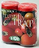 BioCare Non-Toxic Kitchen Fruit Fly Trap - 2 Complete Traps