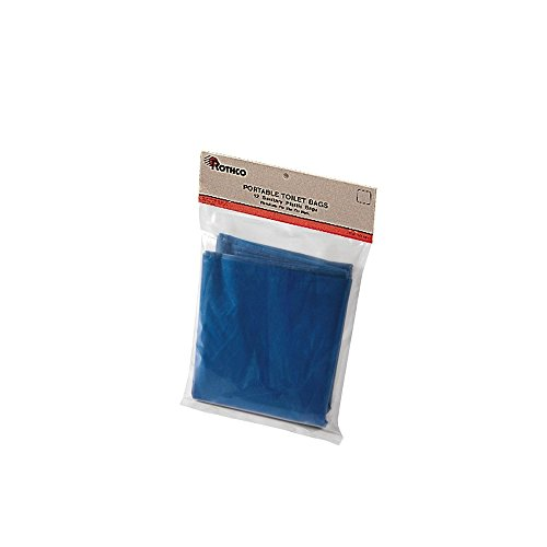 Rothco Portable Camp Toilet Replacement - Bags Portable Toilet