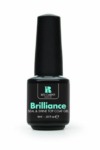 Red Carpet Manicure Brilliance Seal & Shine Top Coat Gel, 0.