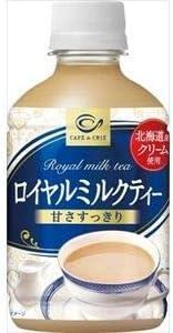 ポッカサッポロ カフェ・ド・クリエ ロイヤルミルクティー 270mlペットボトル×24本入