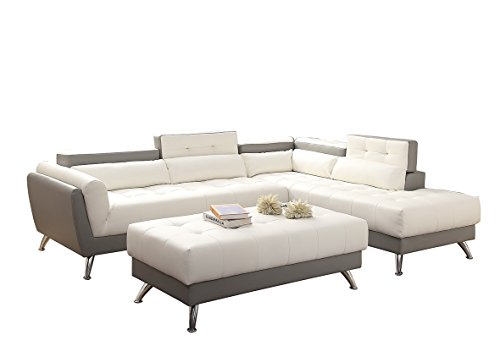poundex-bobkona-jolie-bonded-leather-3piece-sectional-set-with-extra-large-ottoman-in-white-gray-two