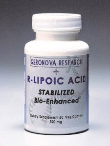 Geronova Research - R-Lipoic Acid 300 Mg 60 Vcaps