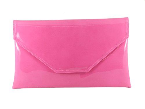 LONI - Cartera de mano para mujer Hot Fuschia Pink