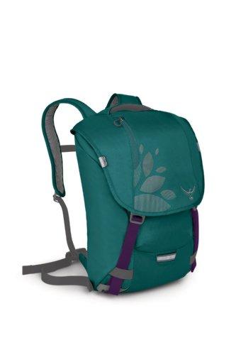 Osprey FlapJill Women's Backpack (Large, Teal Blue), Outdoor Stuffs