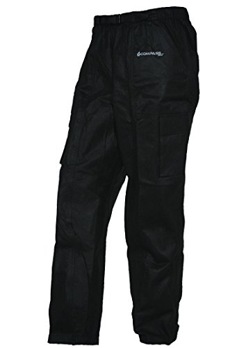 Seam Sealed Rain Pant - COMPASS RT33039-10-MD Raintek T50 Cargo Rain Pants, Black, Medium