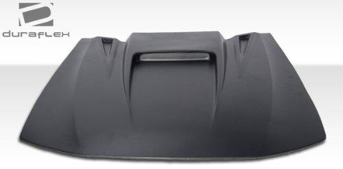 Universal Duraflex Spyder 3 Hood Scoop - 1 Piece (Style Frp Hood)