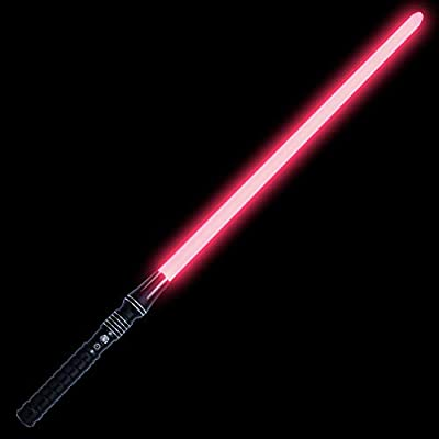 KYBERS Standard Series Lightsaber Metal Hilt Light Saber with Sound Aluminum Hilt Rechargeable,Cosplay Jidi Sith Character(Soresu-RGB): Toys & Games