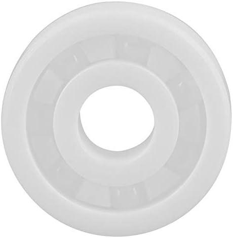 Noblik 608Zr02-Zr02-Ptfe Full Ceramic Miniature Bearing 8X22X7 Id=8Mm Od=22Mm Width=7Mm