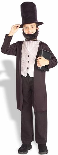 Kids Abraham Lincoln Costume - Small - Historical Costumes