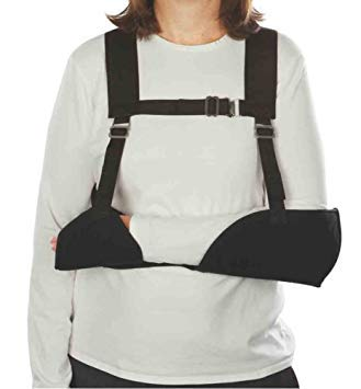 Hemi Sling Arm (Harris Hemi-Arm Sling, Black, Left)