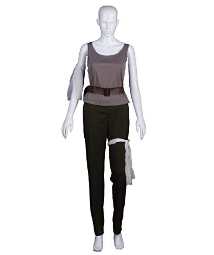 Halloween Party Online Women's Tomb Raider Lara Crofts Costume, Grey X-Large -