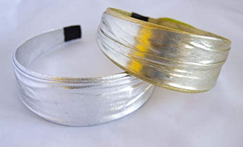 2 Diademas de metal doradas Envio GRATIS 72h