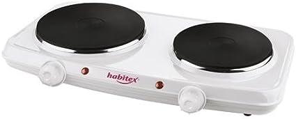 Habitex 1450Y2 - Hornillo Electrico 2250W Doble Habi ...