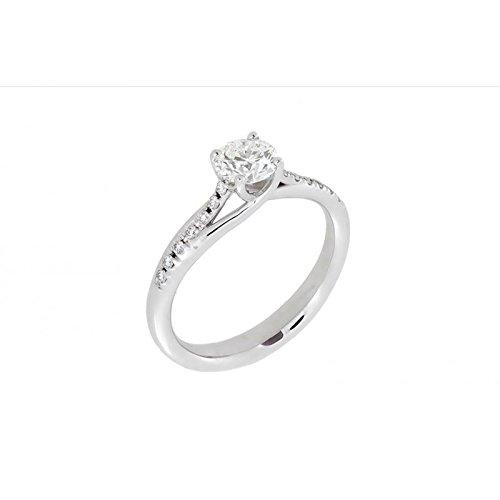 Bague World Diamond Group Grace abtresol01-0.40or blanc diamant