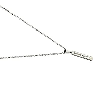 Fanstown Kpop Monsta X Member Birthday Necklace with lomo Cards (Shownu): Toys & Games