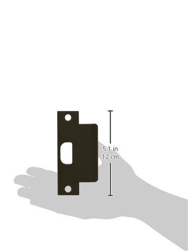 3 Width x 4-7//8 Height Pack of 5 Don-Jo EST 103 13 Gauge Extended Lip ANSI Strike Satin Stainless Steel Finish