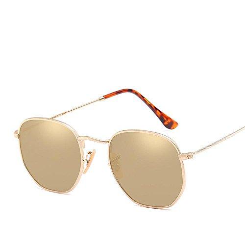 Hombre Retra Color Axiba de General G de Gafas Brillante Gafas Disparar y Irregulares Sol Sol Marea multilateral Gafas Calle de Regalos creativos Mujeres de Sol de de Hombres de fqHPBr16q