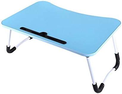 折りたたみテーブル 読んで朝食を学習ノートパソコンデスクソファサイドテーブル折りたたみ 使いやすい (色 : A6, Size : Free)
